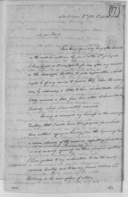 Isaac Briggs to Thomas Jefferson, January 2, 1804