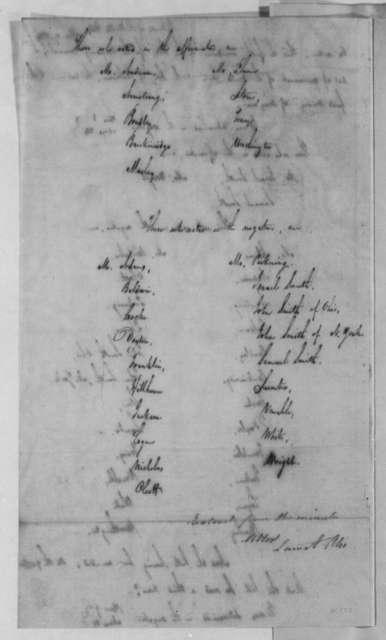 John Smith to Thomas Jefferson, March 19, 1804