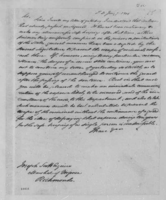 Joseph Scott to Albert Gallatin, June 4, 1804