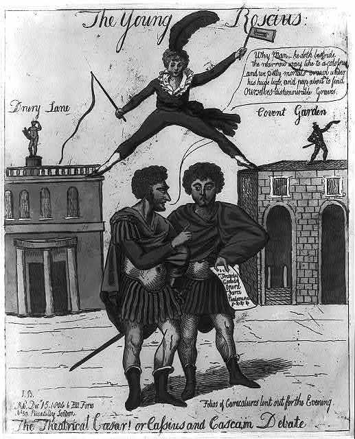 The theatrical Caesar! or Cassius and Casca, in debate / J. B.