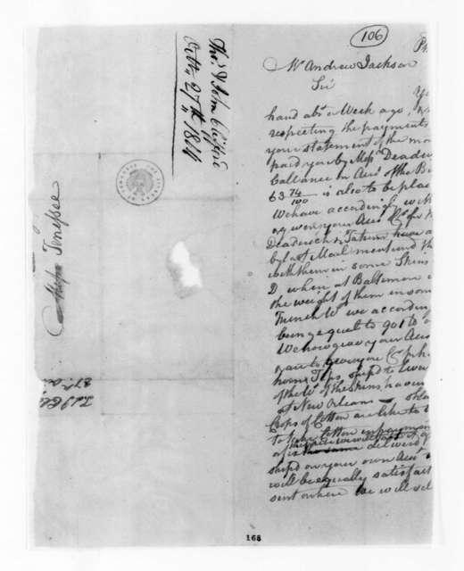 Thomas & John Clifford to Andrew Jackson, October 27, 1804