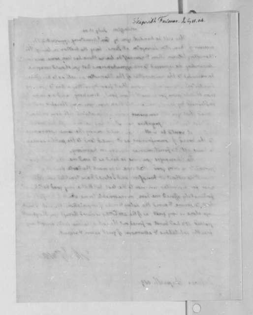 Thomas Jefferson to Fulwar Skipwith, July 11, 1804