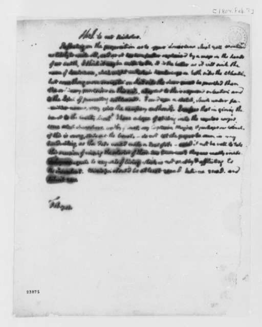 Thomas Jefferson to Wilson Cary Nicholas, February 7, 1804