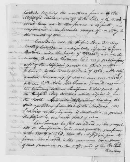 Timothy Pickering to Thomas Jefferson, January 18, 1804