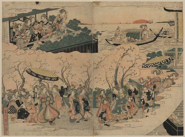 Tōjin no yoshiwara asobi