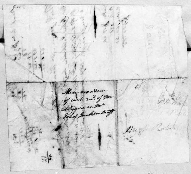 Unknown to T. McGuire, May 17, 1804