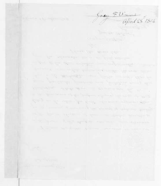 Vincent F. Gray to James Madison, April 28, 1804.