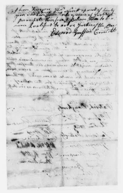 Washington, D.C., Citizens to Thomas Jefferson, 1804, Petition for Establishing Office of Magistrate