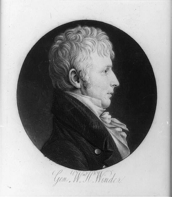 [William Henry Winder, head-and-shoulders portrait, right profile]