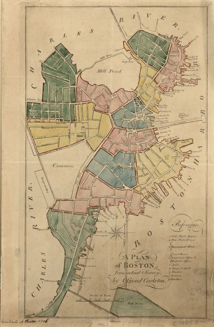 A plan of Boston : from actual survey /