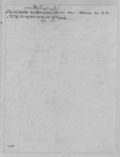 Albert Gallatin to Samuel L. Mitchill, January 3, 1805