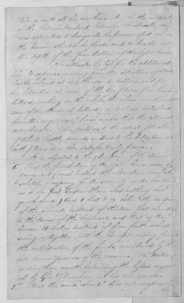 Albert Gallatin to Thomas Jefferson, December 13, 1805