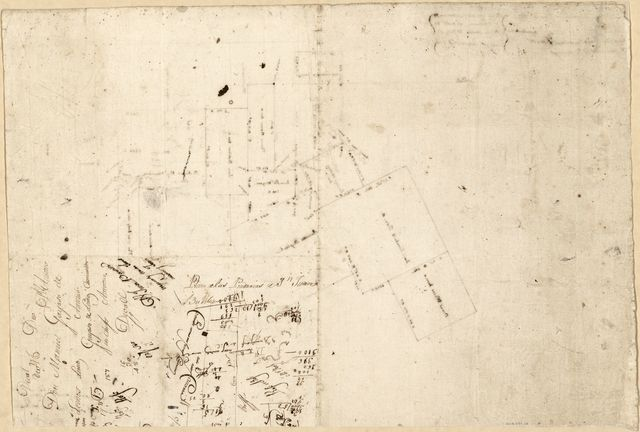 [Cadastral map of a portion of Feliciana District, Spanish West Florida].