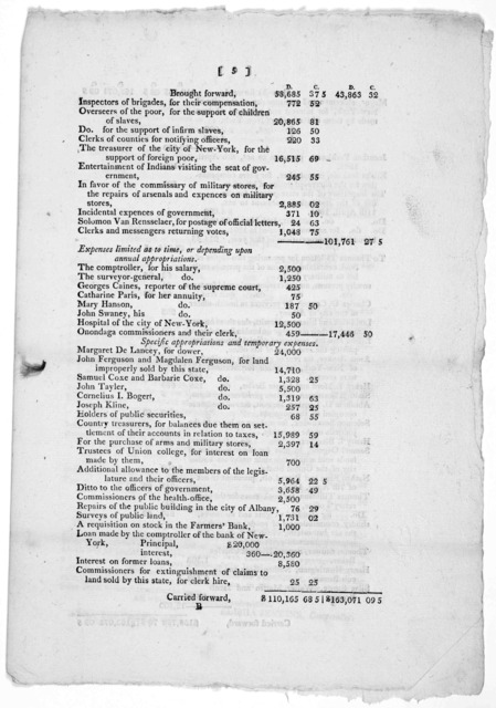 """Comptroller's Office, Albany 25th, January, 1805. Sir. I have the honor to enclose herein the annual report, directed to be exhibited to the Legislature, in and by the act, entitled. """"An act relative to the office and duties of the Comptroller o"""