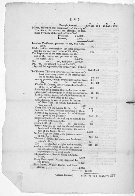 "Comptroller's Office, Albany 25th, January, 1805. Sir. I have the honor to enclose herein the annual report, directed to be exhibited to the Legislature, in and by the act, entitled. ""An act relative to the office and duties of the Comptroller o"