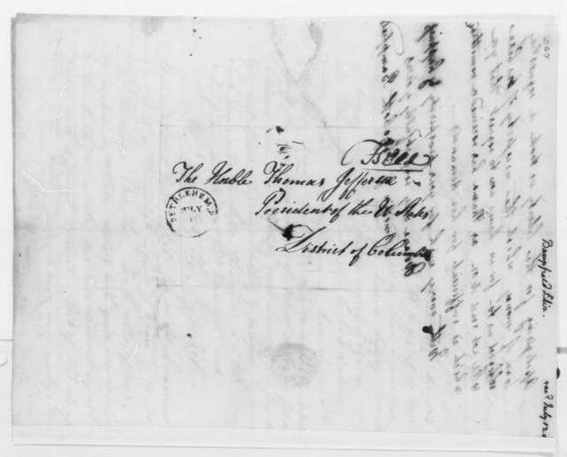 Elizabeth G. Bampfield and Amelia Bampfield to Thomas Jefferson, July 11, 1805