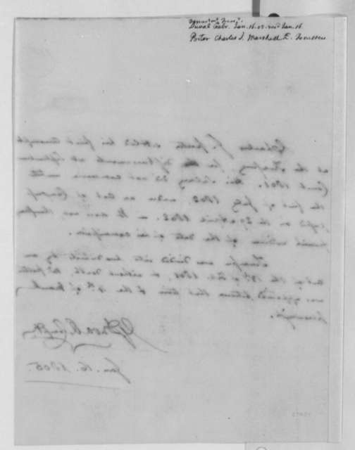 Gabriel Duvall to Albert Gallatin, January 16, 1805