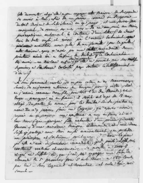 J. Philip Reibelt to Beal Clement, December 1805, in French