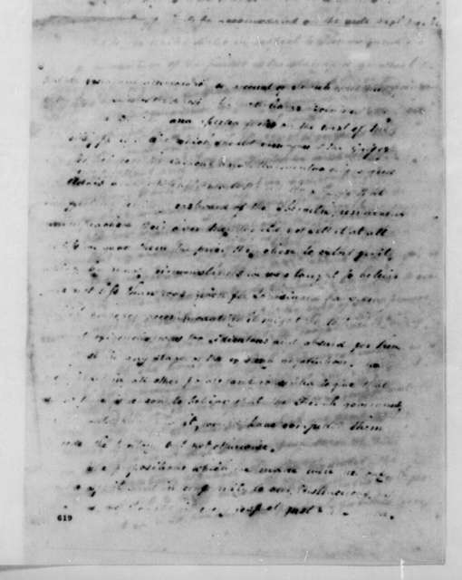 James Monroe to James Madison, May, 1805. Also signed by Charles Pinckney.