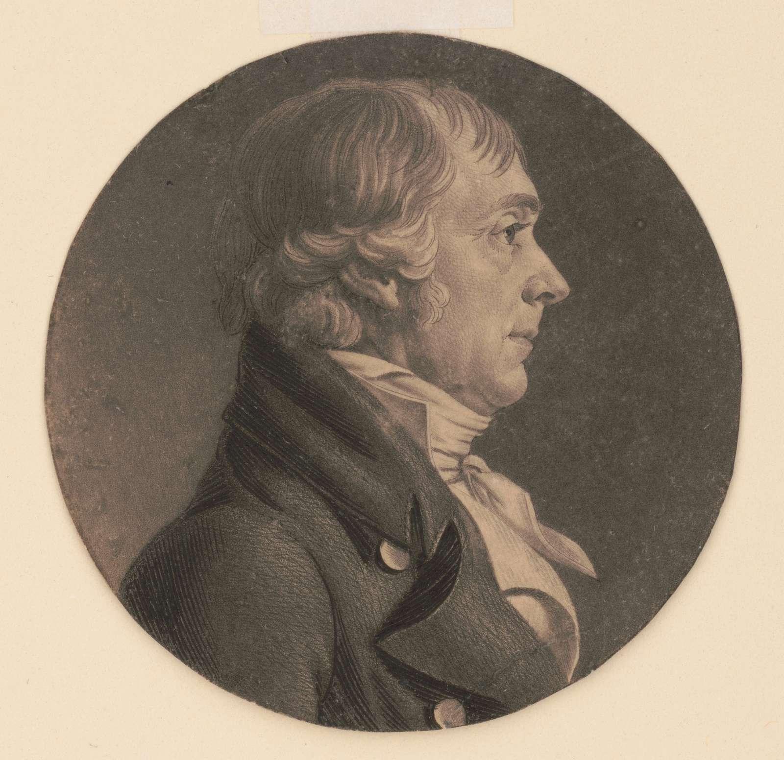 John S. Smith, head-and-shoulders portrait, right profile