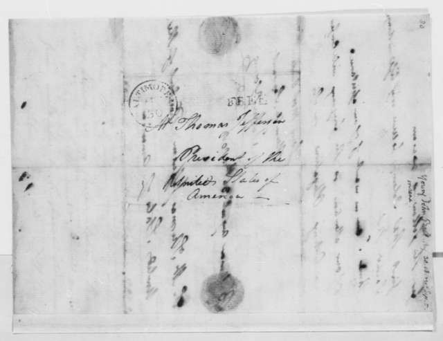 John Young to Thomas Jefferson, August 30, 1805