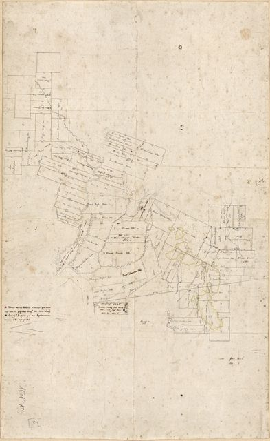 [Map of a portion of Feliciana District, Spanish West Florida].