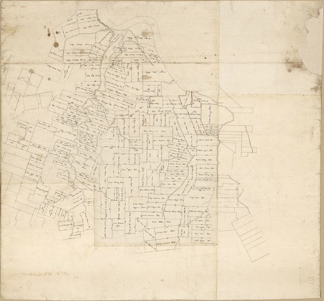 [Map of Feliciana District, Spanish West Florida].