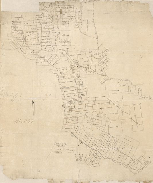 [Map of Manchac and Baton Rouge District, Spanish West Florida].