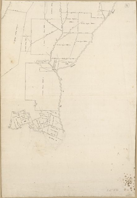 [Map of Spanish West Florida bounded by Rios Comite and Amite].