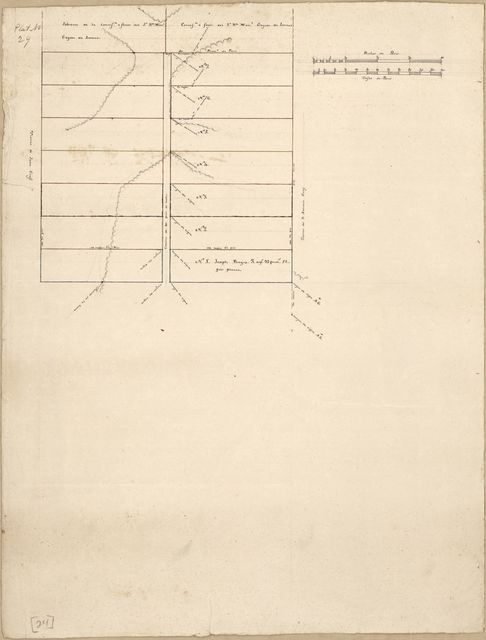 [Plat of the concessions to Manuel Gayoso de Lemos in Baton Rouge District, Spanish West Florida].