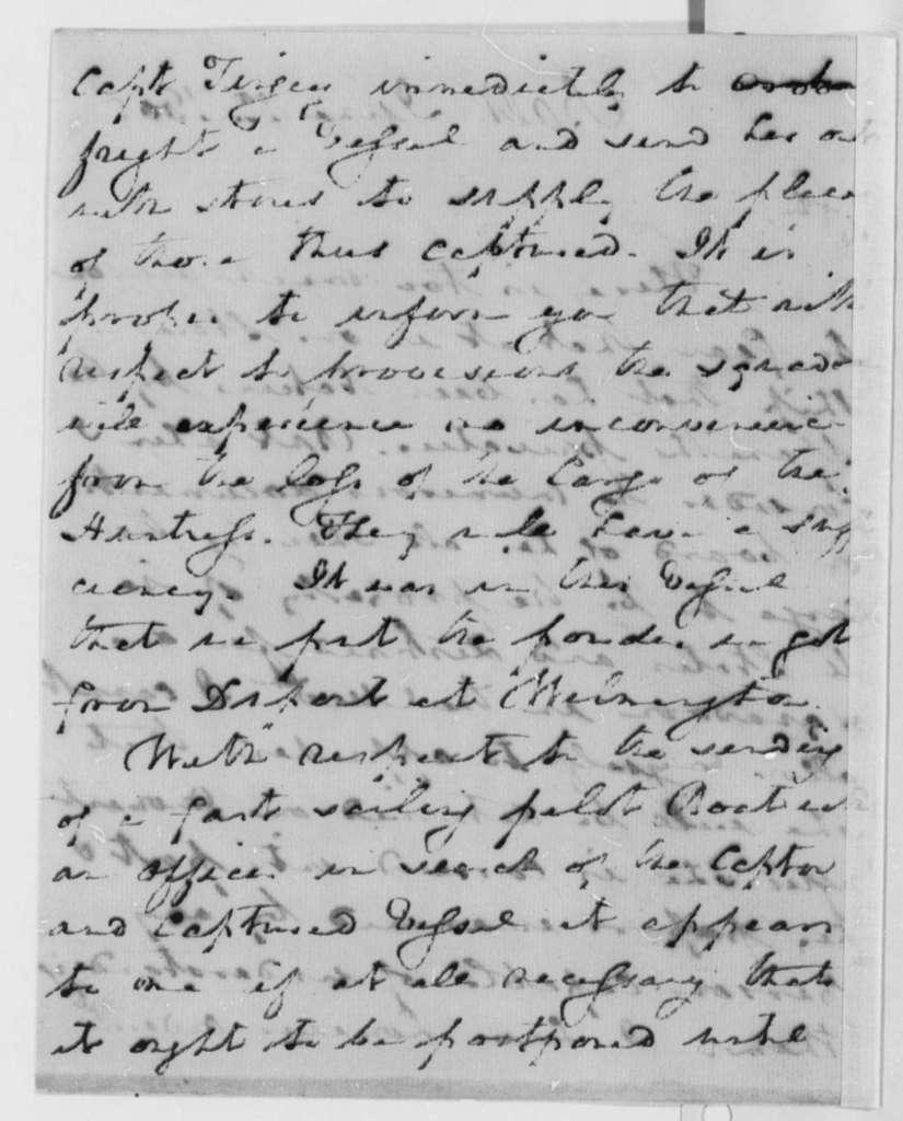 Robert Smith to Thomas Jefferson, June 12, 1805