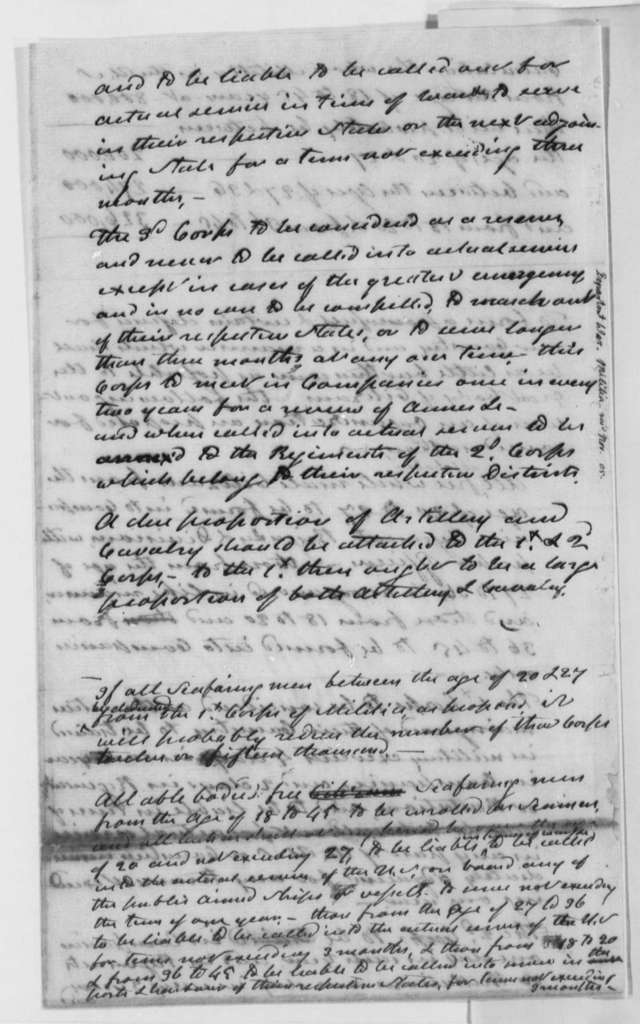 Thomas Jefferson to James Madison, November 1805