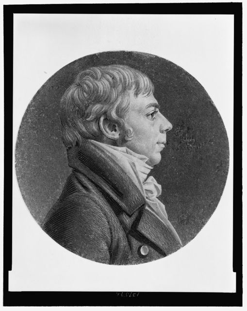 [Thomas Lowndes, head-and-shoulders portrait, right profile]