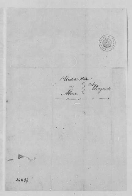 United States Kentucky District Court, September 1805, Deposition on William Alcorn