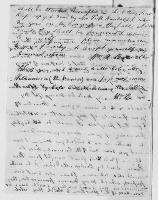 William A. Burwell to Thomas Jefferson, September 15, 1805