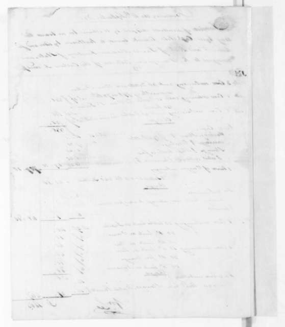 William Lee to James Madison, September 14, 1805. Includes bill of lading and invoice.