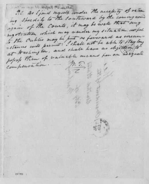 William Tatham to Thomas Jefferson, October 29, 1805