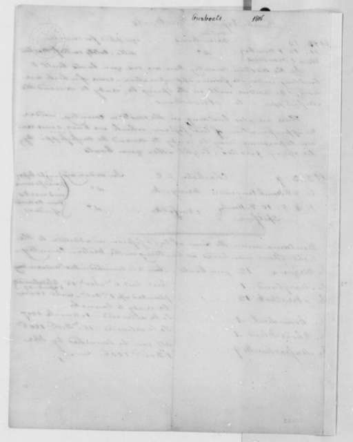 , 1806, List of Naval Bomb Vessels and Gunboats
