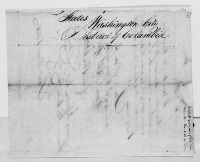 A. Addis to Thomas Jefferson, December 1, 1806