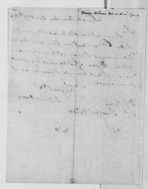Andrew Moore to Thomas Jefferson, April 14, 1806