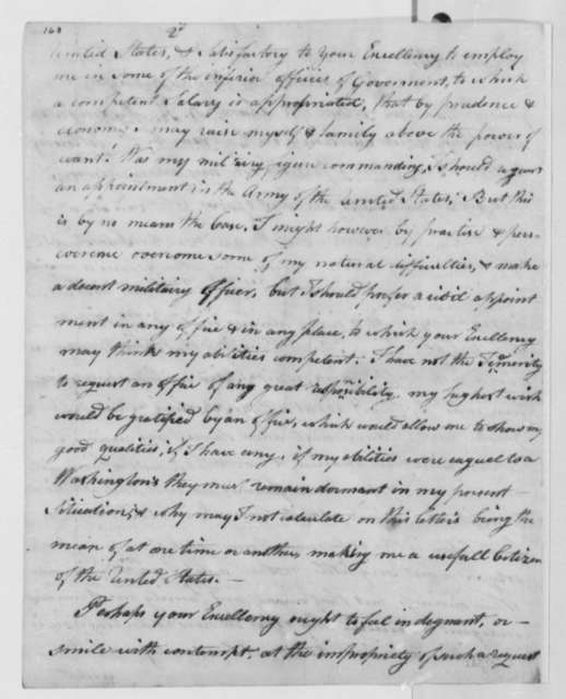 Asa Gage, Jr. to Thomas Jefferson, February 14, 1806