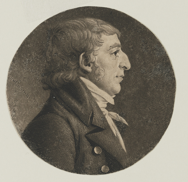[Benjamin King, head-and-shoulders portrait, right profile]