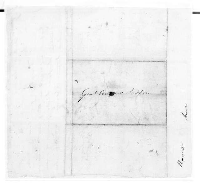 J. McNairy to Andrew Jackson, January 17, 1806