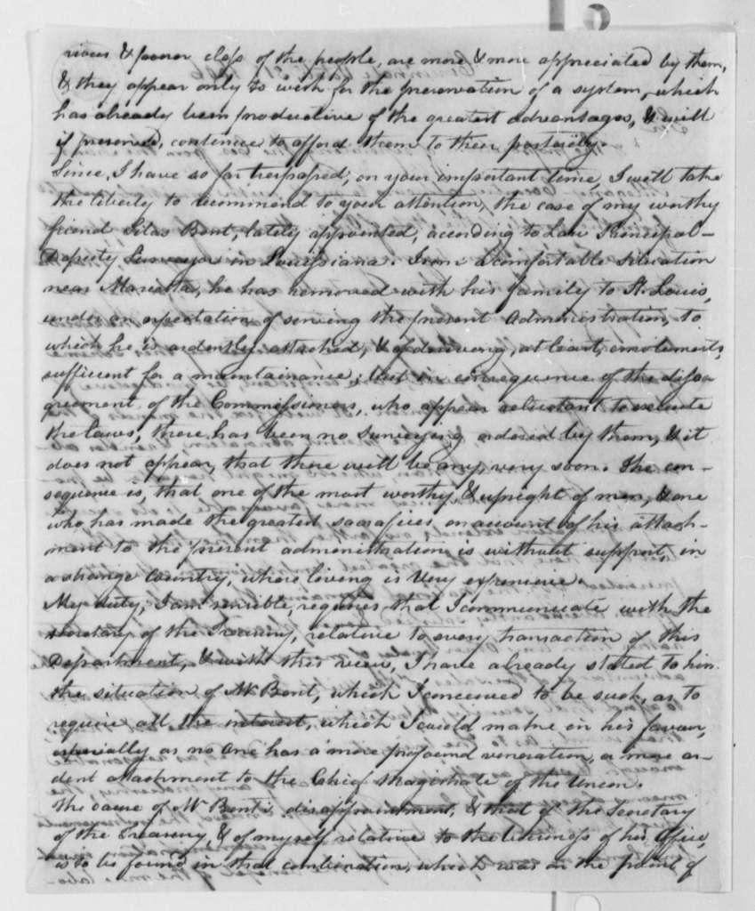 Jared Mansfield to Thomas Jefferson, October 31, 1806