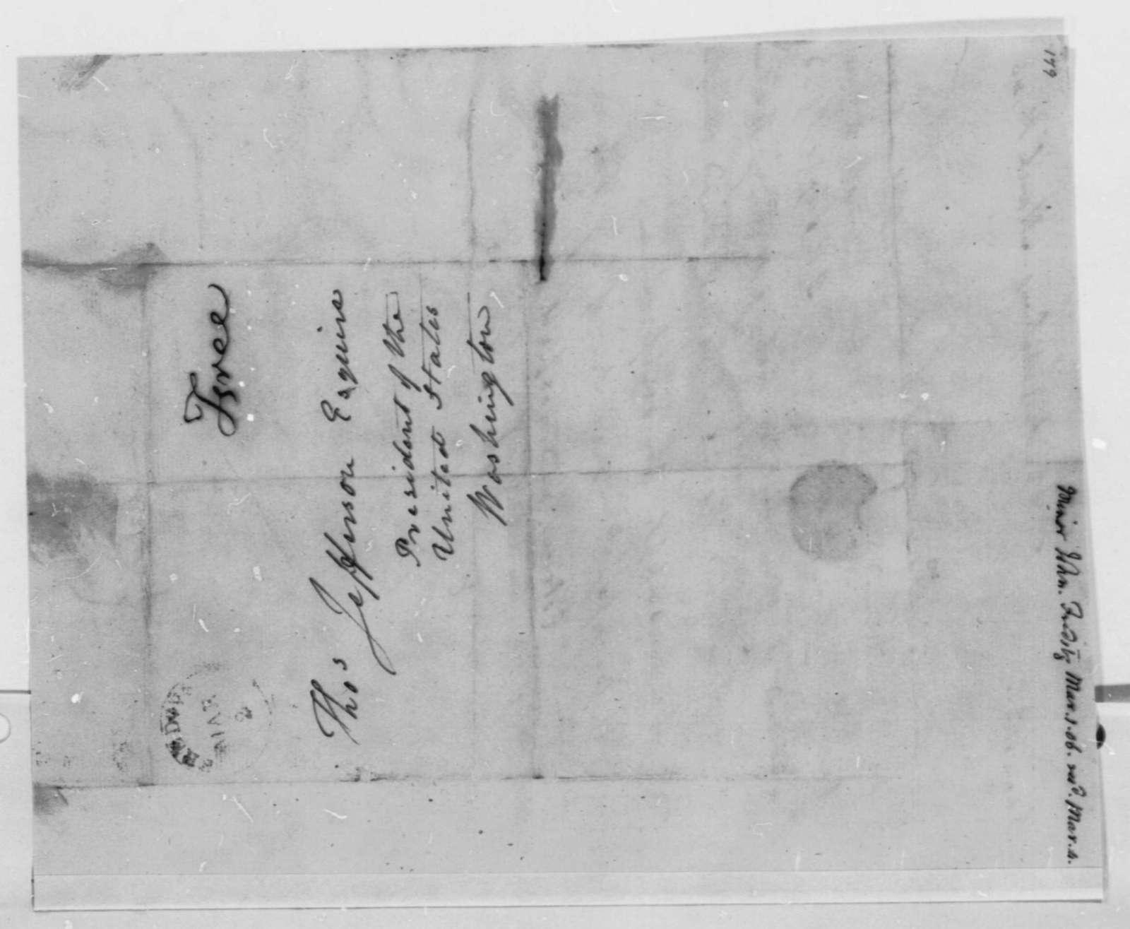 John Minor to Thomas Jefferson, March 1, 1806