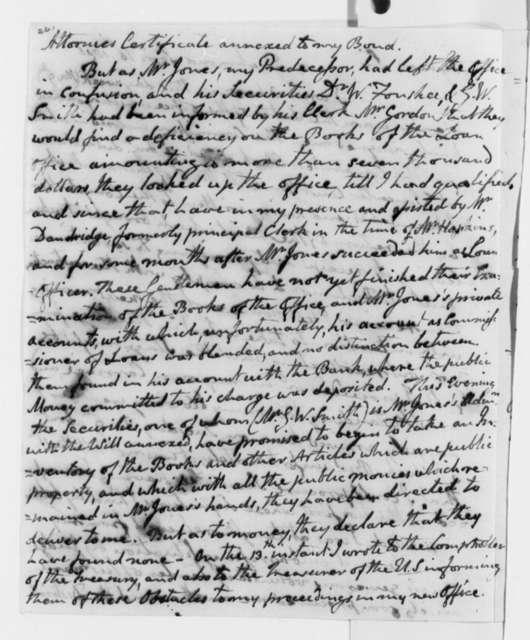 John Page to Thomas Jefferson, September 16, 1806