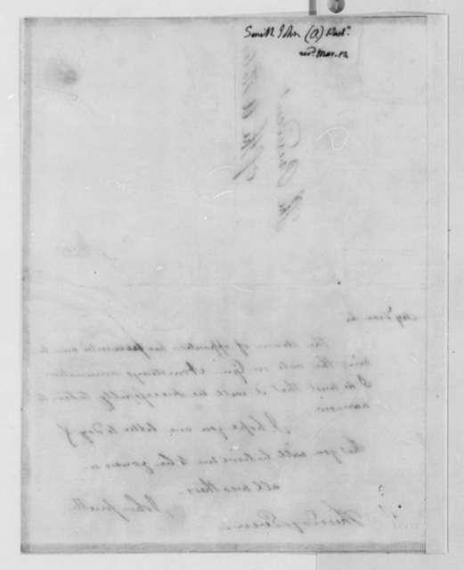 John Smith to Thomas Jefferson, March 13, 1806