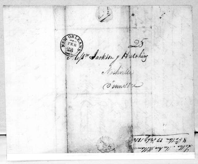 Meeker, Williamson & Patton to Jackson & Hutchings, February 27, 1806