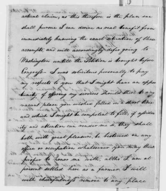 Robert Barclay to Thomas Jefferson, October 21, 1806