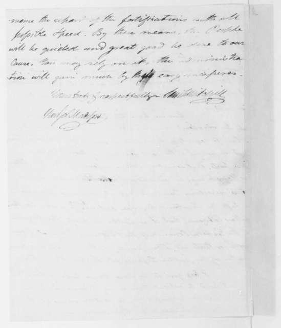 Samuel Latham Mitchill to James Madison, May 2, 1806.
